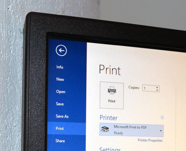 Print to PDF in Windows 10 – CNET
