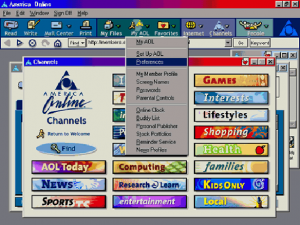 Old AOL Desktop