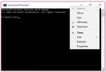 New Windows 10 keyboard shortcuts for the Command Prompt – CNET