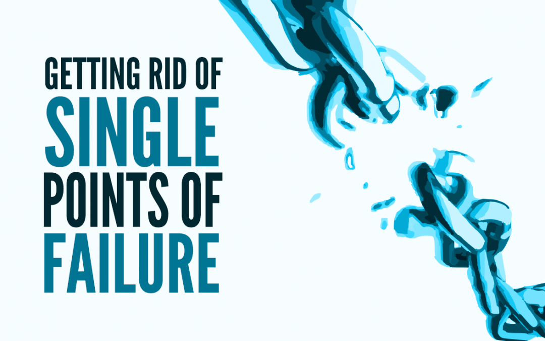 Failure is Not an Option: Getting Rid of Single Points of Failure